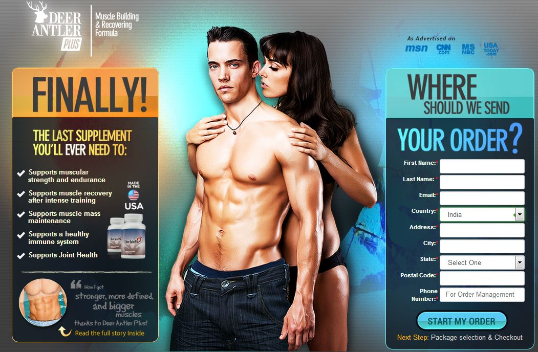 Deer Antler Plus Review Results Muscle Mass Maintenance