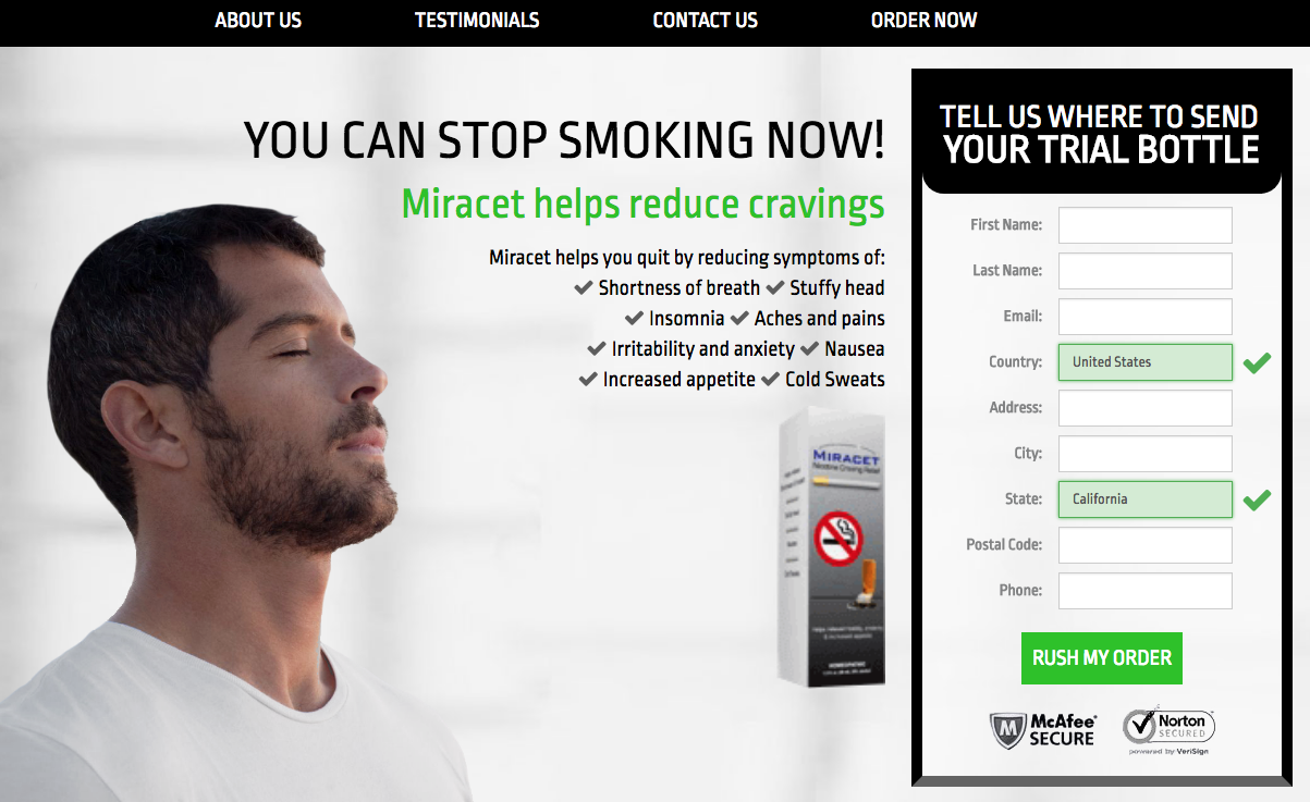 Miracet Review Results Quit Smoking Naturally Does It Really