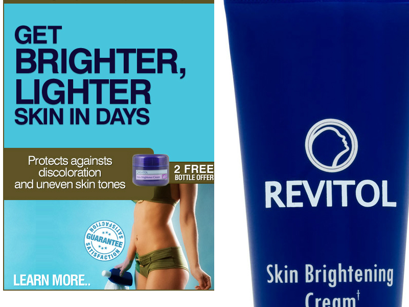 Revitol Skin Brightening Cream Review Results Updated