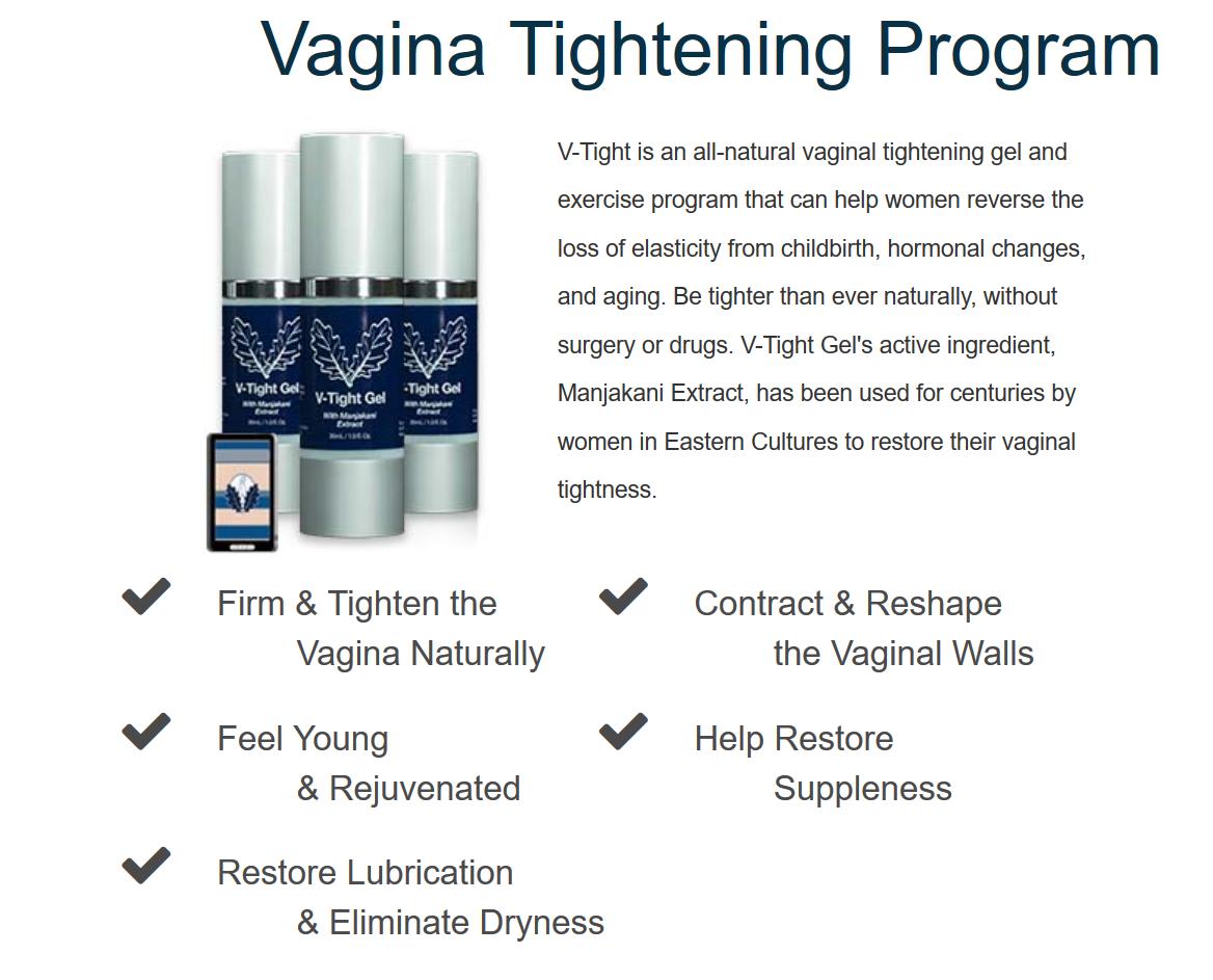 V Tight Gel Review Results Best Natural Vagina Tightening